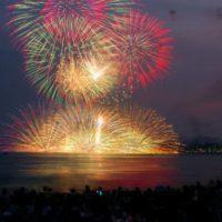 花火と夏祭り-1